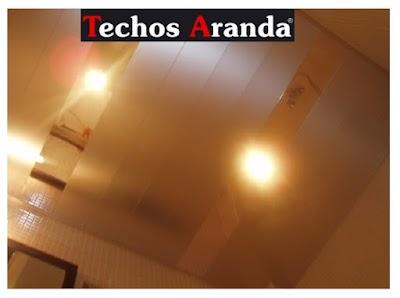 Servicio techos de aluminio Madrid