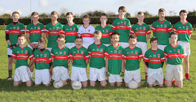 The Garrycastle Panel pictured before they played Milltownpass,Photo Ann Hennessy