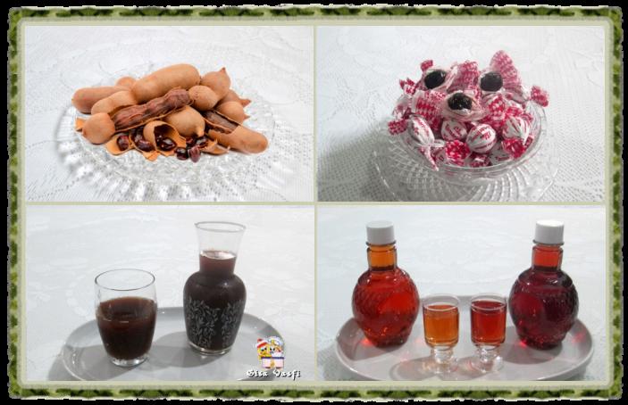 Suco e licor de tamarindo 1