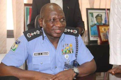 Inspector General of Police Ibrahim Idris