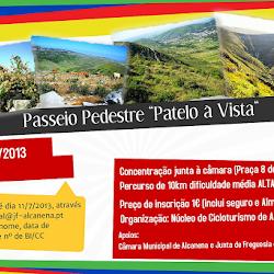 """Passeio Pedestre """"Patelo à Vista"""" 14/07/2013"""