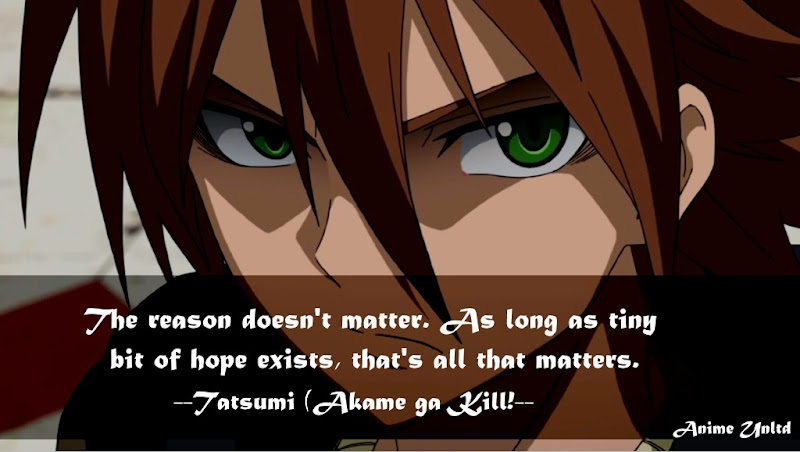 Anime Quotes About Hope