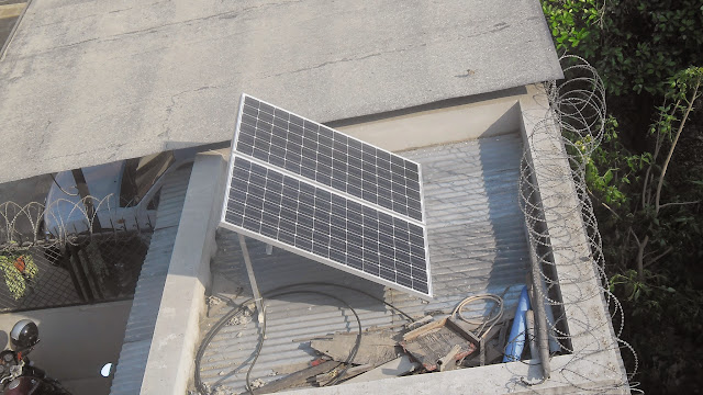 Panels on top