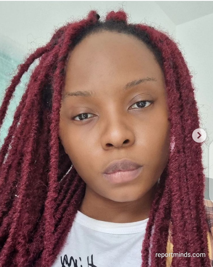 Actress Yemi Alade show off her natural looks without make up (Photos)