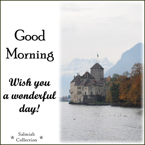 Wish you a wonderful day!