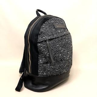 Want LES Essentiels de la vie Leather Trimmed Backpack