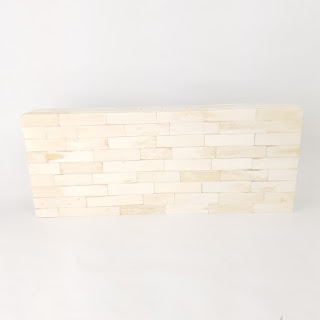Tessellated Bone Rectangular Wood Box