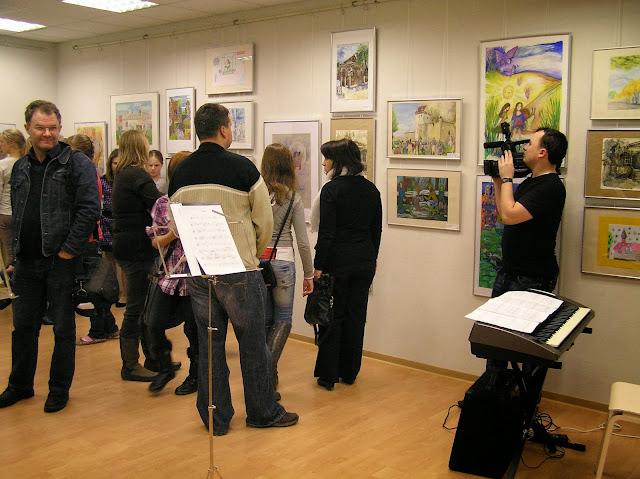 X rahvusvahelise konkursi «Kunst- mäng või looming?» näituse avamine - PB280002.JPG