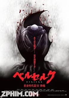 Kỵ Sĩ Đen: Chân Mệnh Đế Vương 3 - Berserk: The Golden Age Arc 3 (2013) Poster
