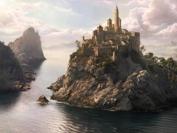 Magick Landscape Of Nightmare 8, Magical Landscapes 3