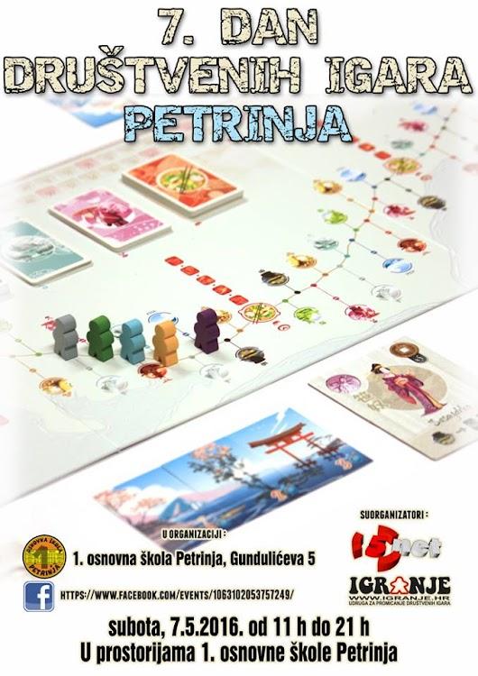 Idemo u Petrinju na 7. Dan društvenih igara