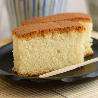 Castella (Kasutera) Japanese cake.