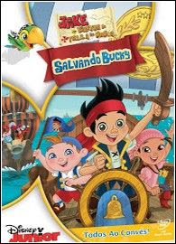 Download Jake e os Piratas da Terra do Nunca: Salvando Bucky DVDRip Dual Audio