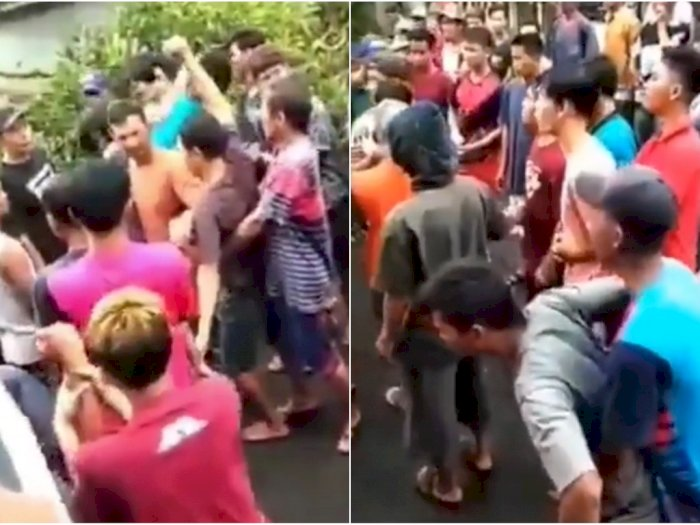 Viral Video Kesurupan Massal Usai Pohon Beringin Tua Ditebang, Ngamuk ke Penebang Pohon