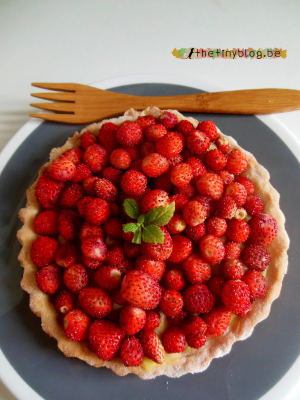 Wild Strawberries Tart