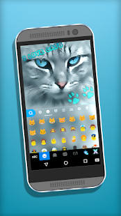Love Cats Keyboard Theme - náhled