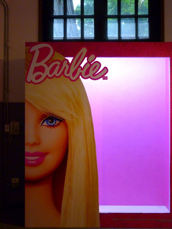 Expo Barbie, probablement plus de mille