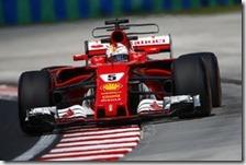 Sebastian Vettel ha conquistato la pole del gran premio d'Ungheria 2017