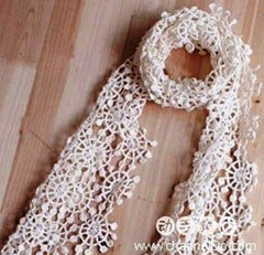 Shawl white 01