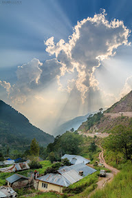The rays of hope on Kaghan Valley.