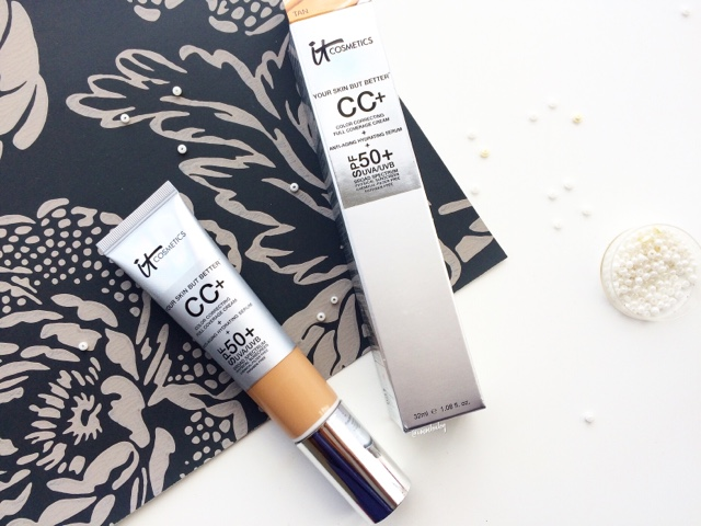 review of best cc cream it cosmetics with swatches NC40