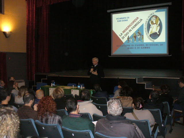 intervento di Don Sandro dalle Fratte alla Prima festa della famiglia del vicariato di San Donà di Piave
