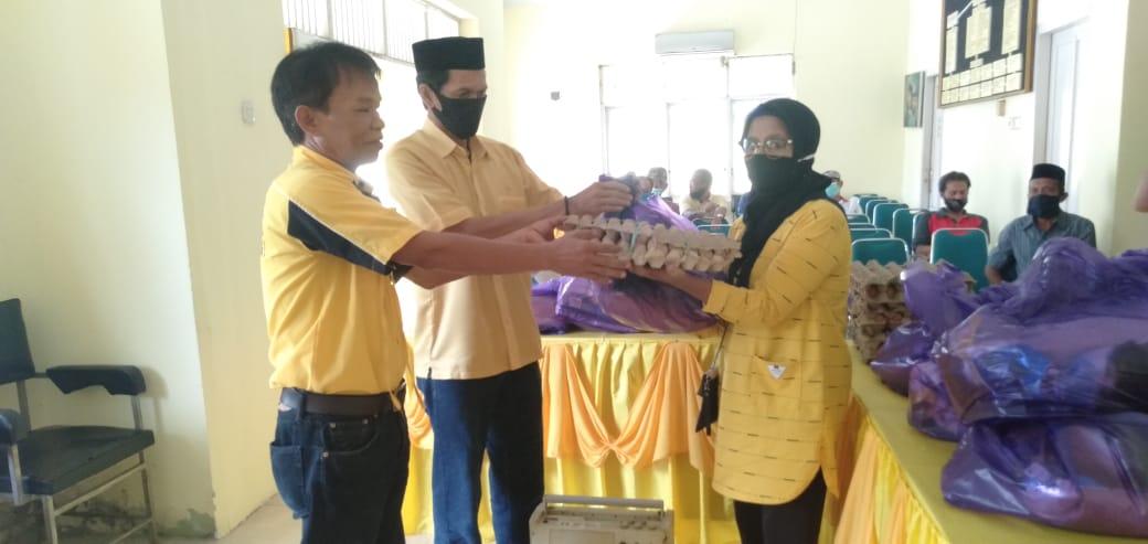 DPD II Golkar Salurkan Paket Sembako dan Paket Ramadhan Kepada Pimcam, Pimdes dan Pimkel