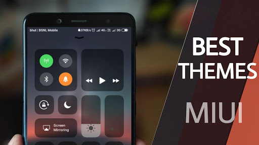 Best theme Of the week - iOS dark Grey V11 2 for Redmi Note