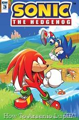 Actualización 18/04/2018: Numero 2 por Rinoa83 para The Tails Archive y La casita de Amy Rose. Sonic y Knuckles se juntan para luchar como en los viejos tiempos, hasta que aparecen dos nuevos villanos. Con un grupo de aldeanos bajo ataque, ¿incluso las fuerzas combinadas de estos dos héroes serán suficientes para derribar a Rough y Tumble?