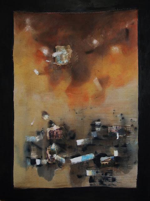 Construcción del diálogo, pintura del pintor Alejandro Martínez Corredor