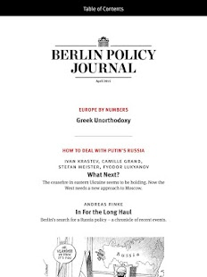 Berlin Policy Journal- screenshot thumbnail