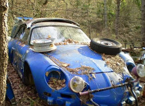Abandoned Renault Alpine A110