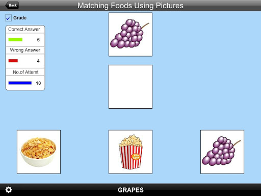 Matching Foods Using Pictures Lite Version 1.0 screenshots 5