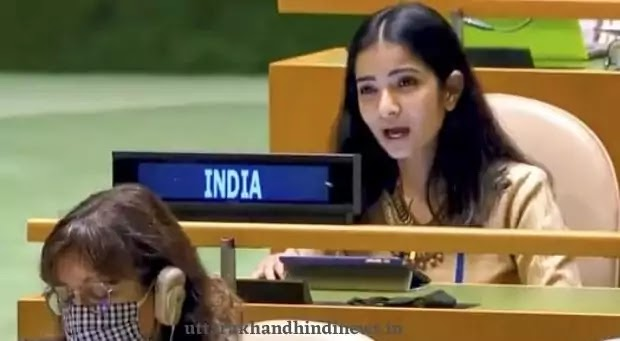 Sneha Dubey In United Nations General Assembly
