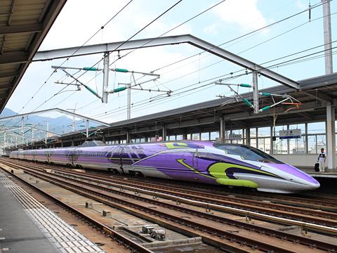 JR西日本 山陽新幹線「こだま741号」500 TYPE EVA 三原駅にて その1