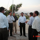 Demonstration of Amateur Radio Satellite communication to Mr Annadurai and Mr Raghavamurthy - DSC00133.JPG