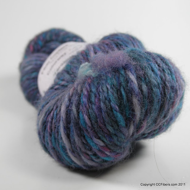 Handspun Yarn, Colby, Worsted