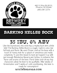 Uncle Bear's Barking Helles Bock
