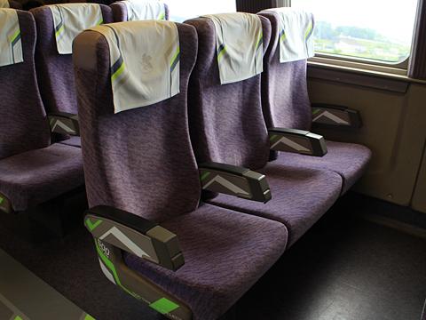 JR西日本 山陽新幹線「こだま741号」500 TYPE EVA 車内 その23