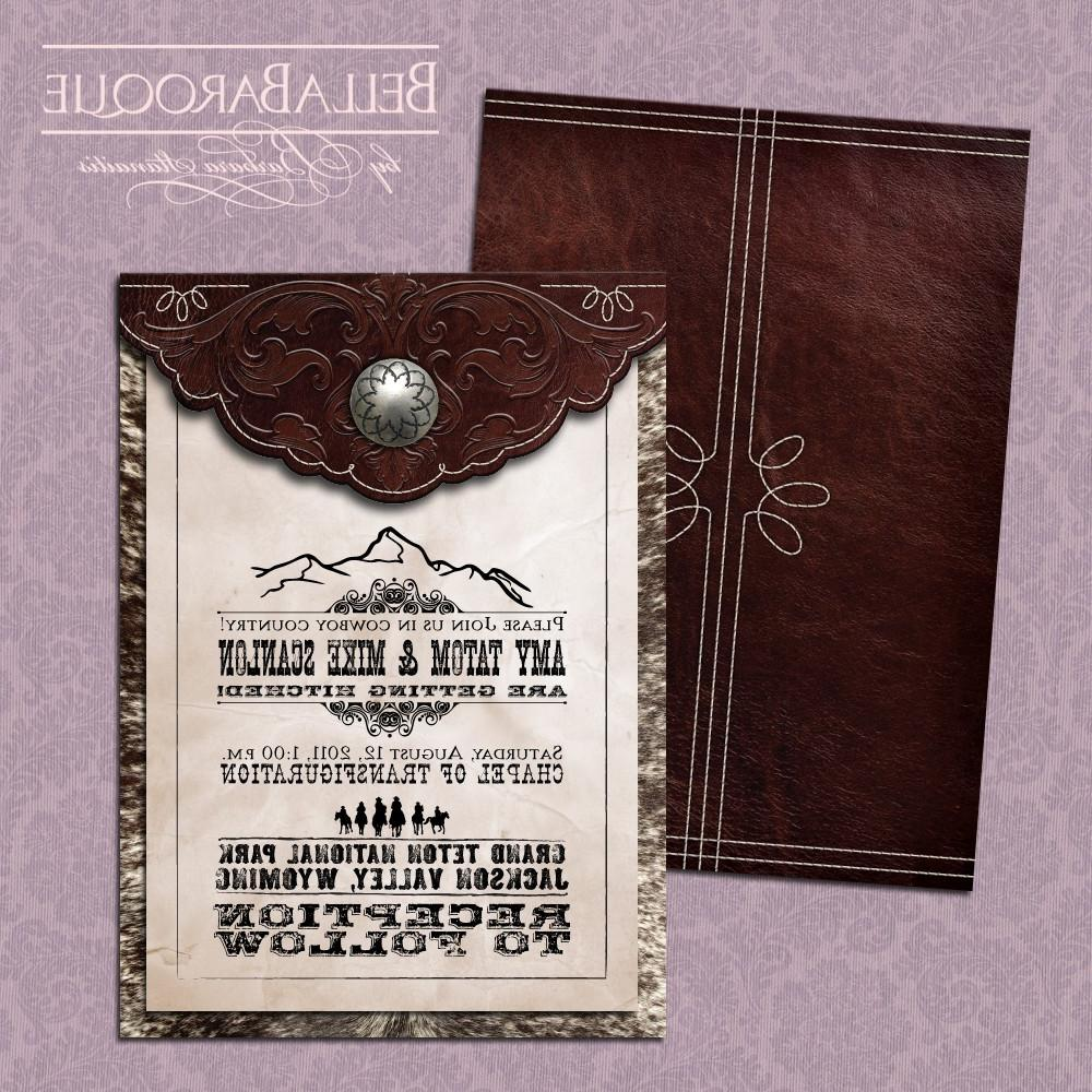 Old Wedding Invitations: Eliya's Blog: Old West Wedding Invitation