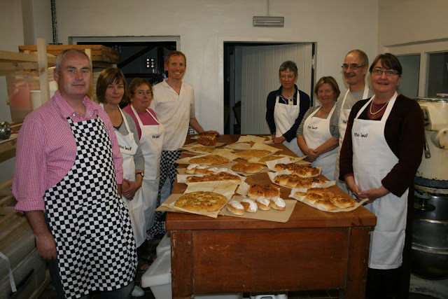 Bakers on the Getting Started course with some of their results