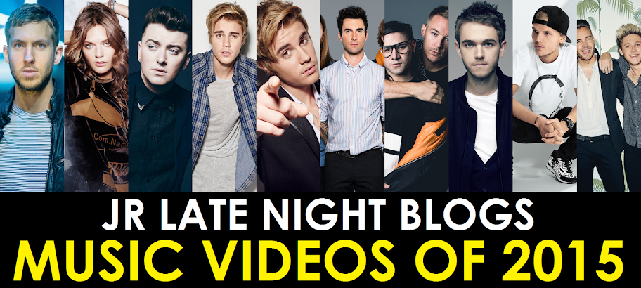 JR's Music Videos of the Year - 2015
