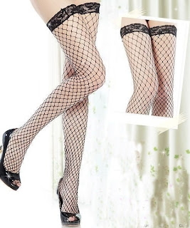 Big Grid Stockings