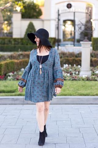 Everything Evelyne Boho Chic Dress