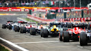 All cars starting for the 2013 Belgian F1 GP