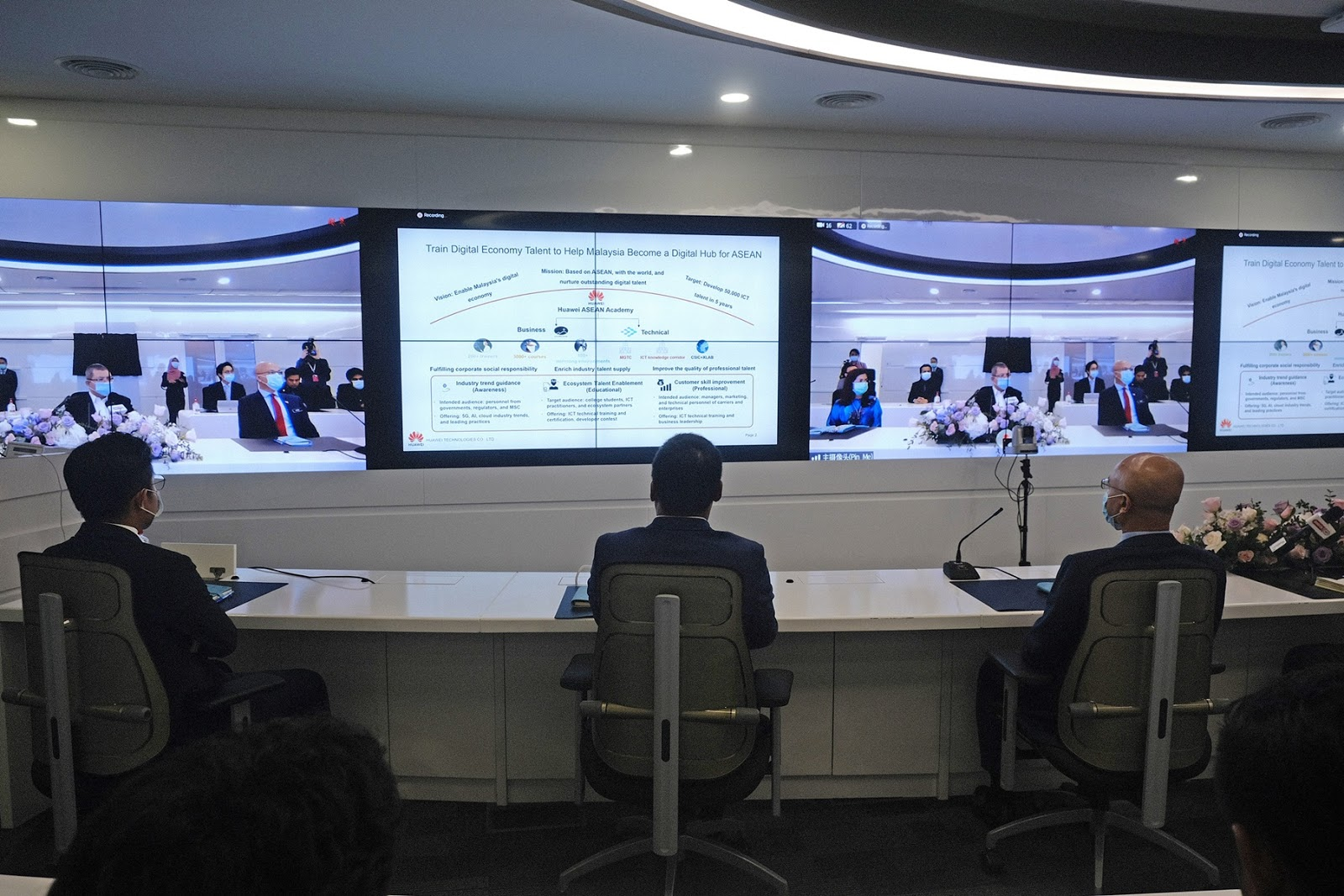HUAWEI เปิดตัว ASEAN Academy เสริมศักยภาพบุคลากรด้านดิจิทัล เร่งพัฒนา Digital Ecosystem