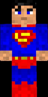 Парня супермена скин с знаком