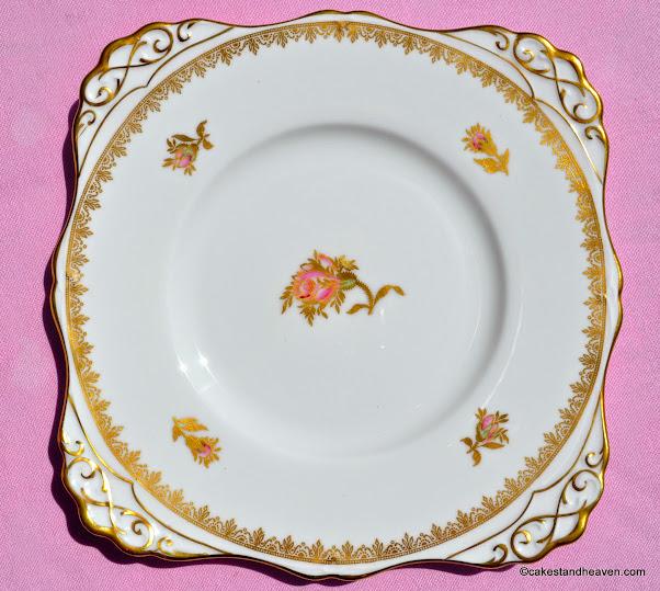 Tuscan Rosalie F187 Vintage China Cake Plate