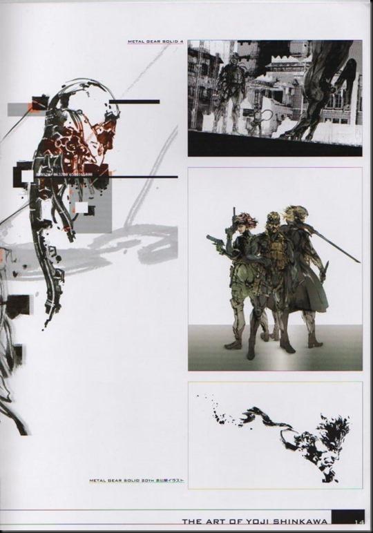 The Art of Yoji Shinkawa 1 - Metal Gear Solid, Metal Gear Solid 3, Metal Gear Solid 4, Peace Walker_802479-0018
