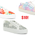 Madden Girl Tie Dye Lace Up Easy Slip On Scrunch Back Sneakers$10 + Free Shipping, Restricted Tie Dye or Silver Sneakers $10